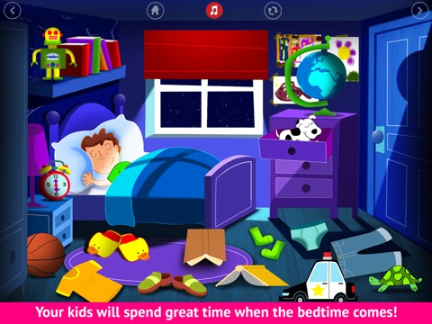 Bedtime is fun! - Get your kids to go to bed easily - Lite screenshot 3