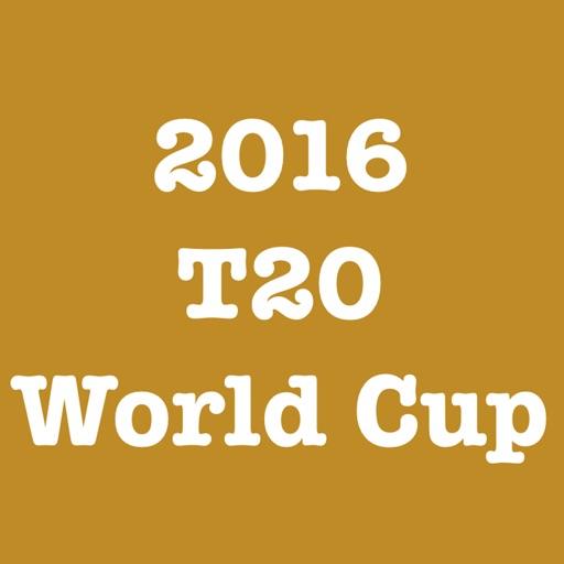 2016 T20 World Cup iOS App