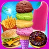 School Lunch Food Maker - Frozen Ice Cream, Popsicles, Desserts & Cooking Games FREE