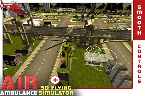 Air Ambulance Flying Simulator 3D: Fly Real Emergency Air Ambulance & Rescue People screenshot 3