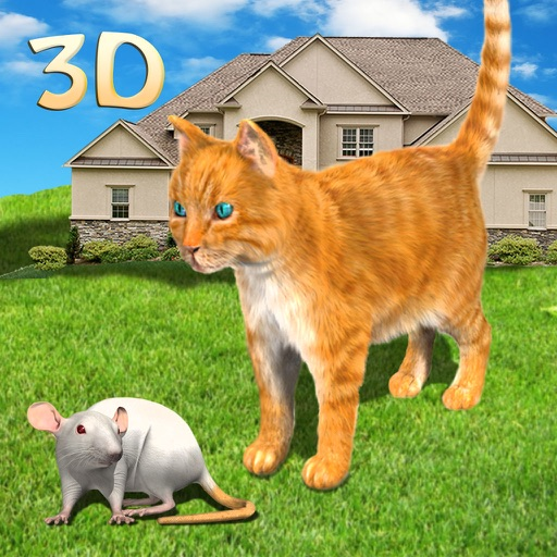 Cat vs Mouse Chase Simulator 3D iOS App