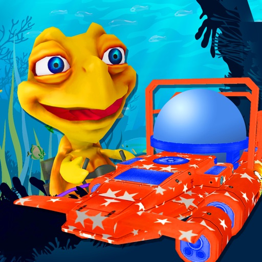 Crazy Underwater Turtle Joyride - FREE - Aqua Jump & Dive Coral Reef Race iOS App