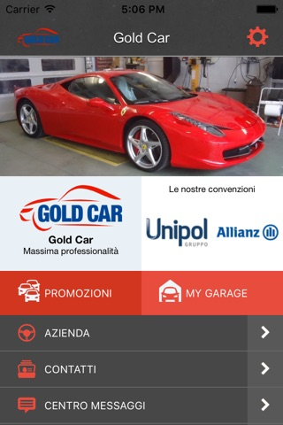 Gold Car screenshot 1
