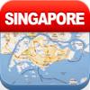 新加坡离线地图 - 城市 地铁 机场