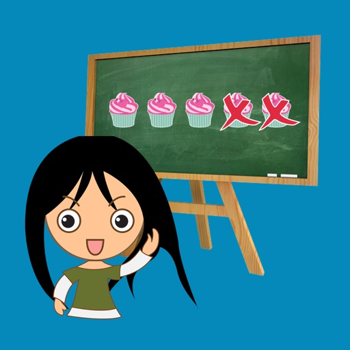 Learning Basic Subtraction for Kids iOS App