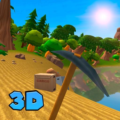 Cartoon Island Survival Simulator 3D Full