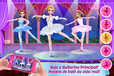 Pretty Ballerina Dancer screenshot 2