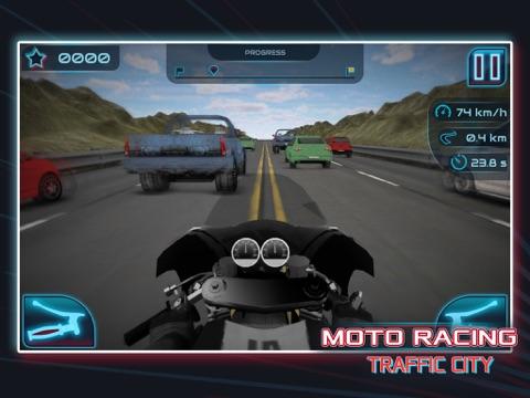 Moto Racing: Traffic City для iPad