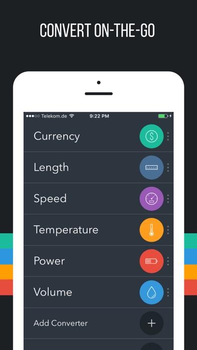 Fancy Units & Currency Converter Offline - Plus! Screenshot 1