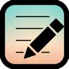ロック画面メモ〜付箋のようなメモ付きの壁紙を作成するアプリ