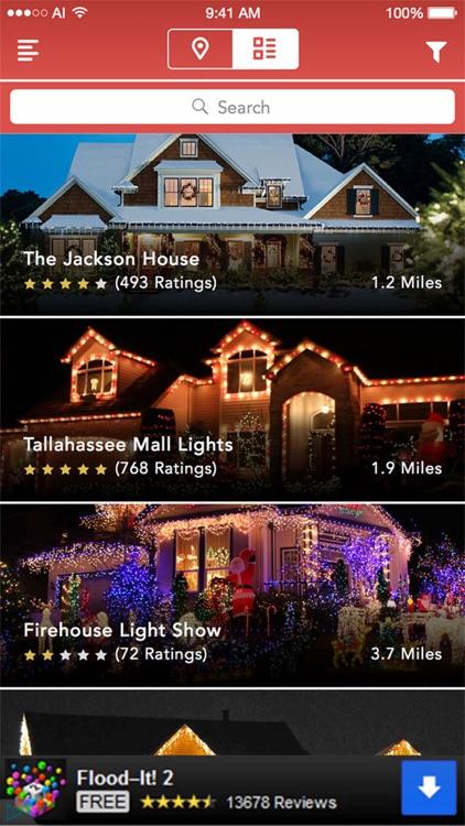 Christmas Light Finder