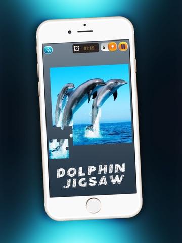 Дельфин Головоломка Забава - Магия Игра Для Детей с Красивый Море Животное Картинки для iPad