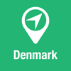 BigGuide Denmark Map + Ultimate Tourist Guide and Offline Voice Navigator