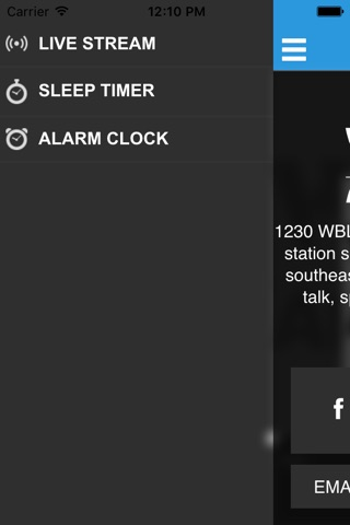 WBLQ AM 1230 screenshot 2