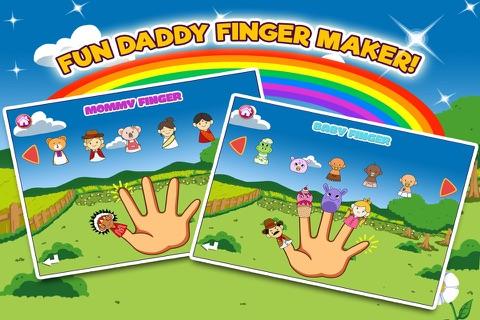 Daddy Finger Family Song screenshot 3