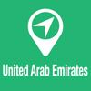 BigGuide United Arab Emirates Map + Ultimate Tourist Guide and Offline Voice Navigator