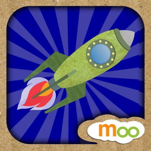 火箭, 飞机 , 船 - 儿童益智游戏 , 图画, 拼图活动 (英语, 国语) by