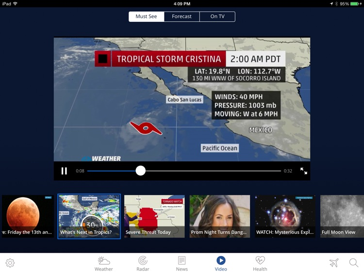 The weather channel app for ipad best local forecast radar map the weather channel app for ipad best local forecast radar map and storm gumiabroncs Images
