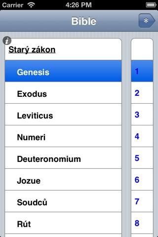 Čtení Bible screenshot 1