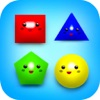 Happy Kids: Baby Shapes 2-5