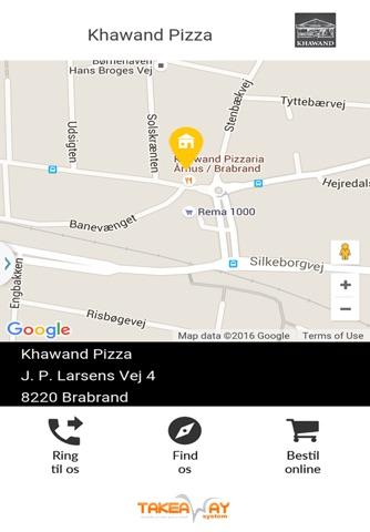 Khawand Pizza Aarhus screenshot 2