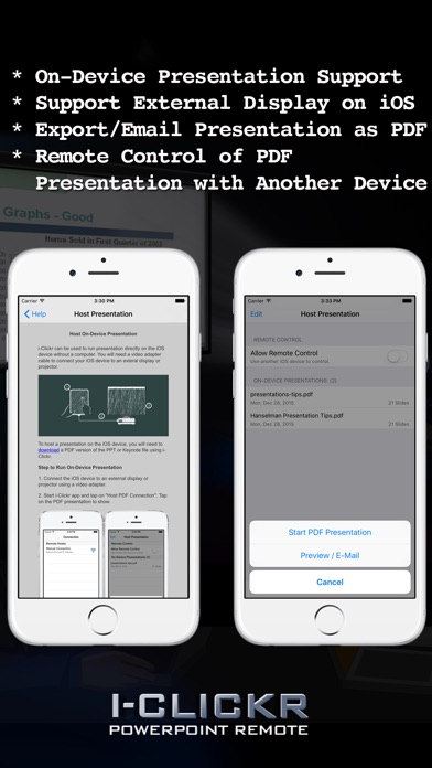 i-Clickr Remote for PowerPoint screenshot four