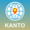 Kanto, Japan Map - Offline Map, POI, GPS, Directions japan physical map