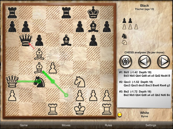 Screenshots of Chess Free - with coach for iPad