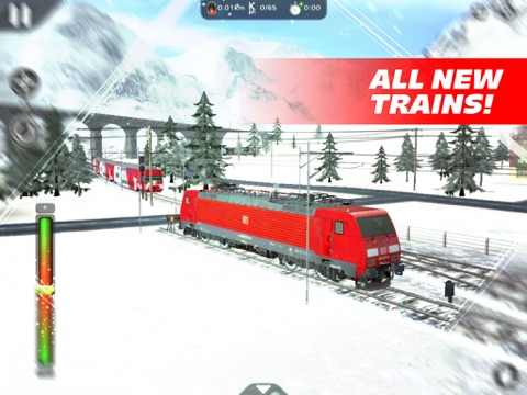 Скачать Train Driver Journey 8 - Winter in the Alps