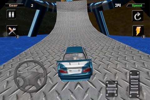 3D HD Car Extreme Racing Stunt Simulator screenshot 4
