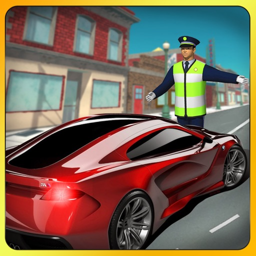 Traffic Police Car Chase New York City 3D iOS App