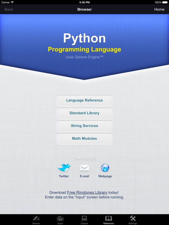 Python Programming Language Screenshots