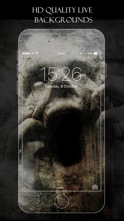 Live Wallpapers Scary Horror Animated Themes