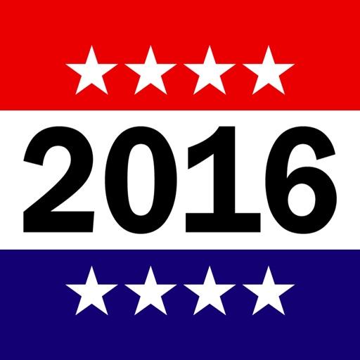 2016 US Presidential Election App - Real Politics News iOS App