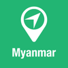 BigGuide Myanmar Map + Ultimate Tourist Guide and Offline Voice Navigator