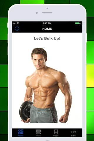 Bulkup Guide Pro - Let's Build the Massive Muscles! screenshot 1