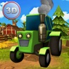 Farm Vehicle Simulator 3D - Drive farm tractor and harvest hay