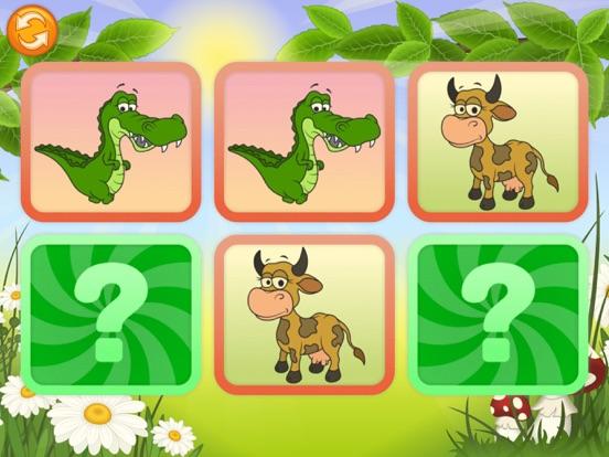 Скачать игру Животные - Найди одинаковые картинки