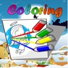 Paint Coloring Book for Little Angels