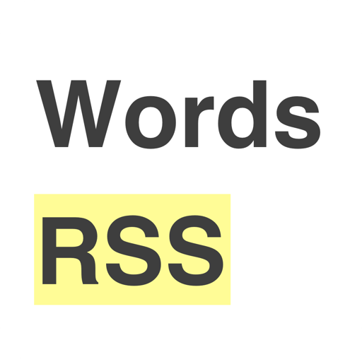 Words RSS