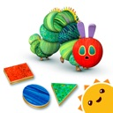 Die kleine Raupe Nimmersatt - Farben und Formen