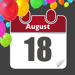 Anniversaire Rappel - Calendrier d'anniversaire & compte à rebours avec notifications