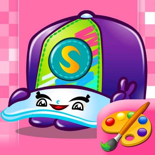 Coloring Game For Baby Shopkins Edition By Suttiruk Jujaroen