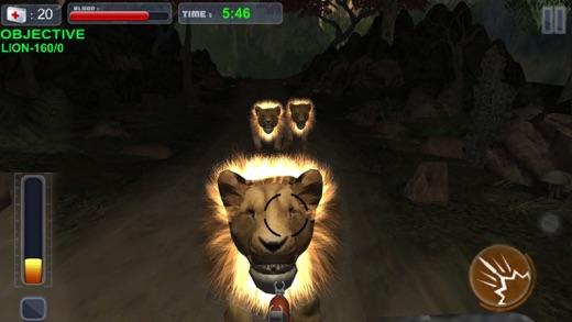 Lion Hunter wild Forest Escape Screenshot