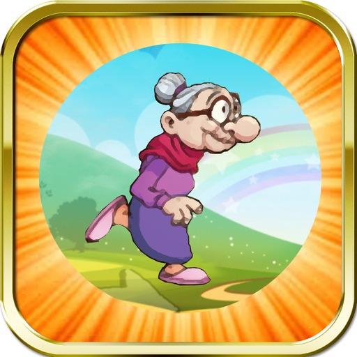 Happy Grandmother: Running Adventure Game for Boys & Girls iOS App