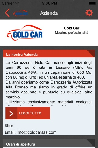 Gold Car screenshot 2