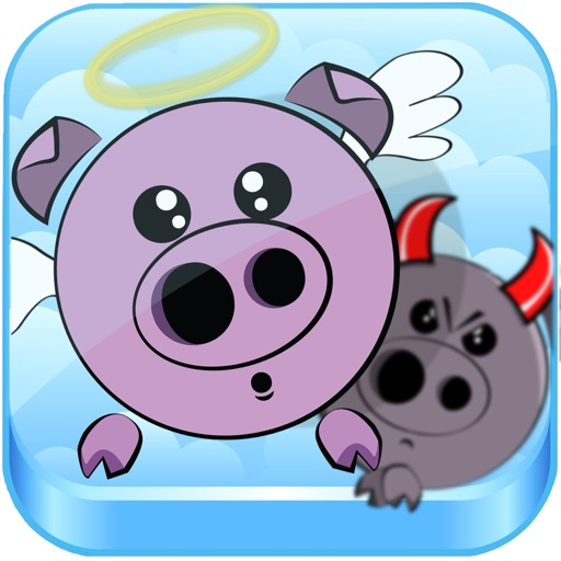Porky's Heaven - Impossible Sky Jump iOS App