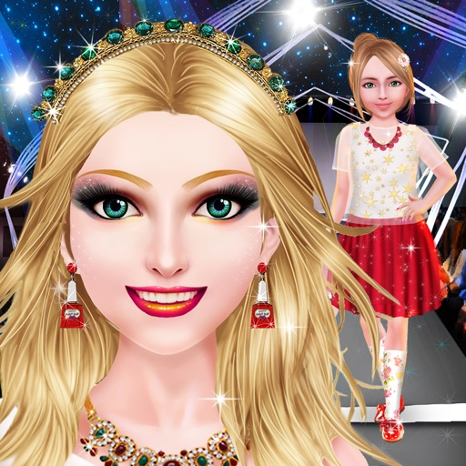 Super Model Salon: Family Show iOS App