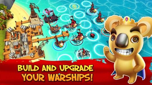 Tropical Wars - Pirate Battles Screenshot