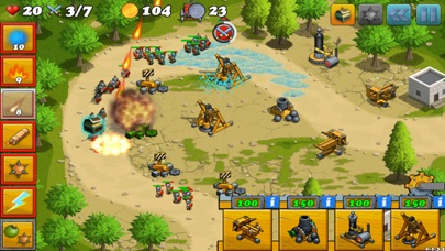 Screenshot von Tower Defense von Fields: Griechenland Tower Defense von Homeworld Runners Sentinel Spiel1